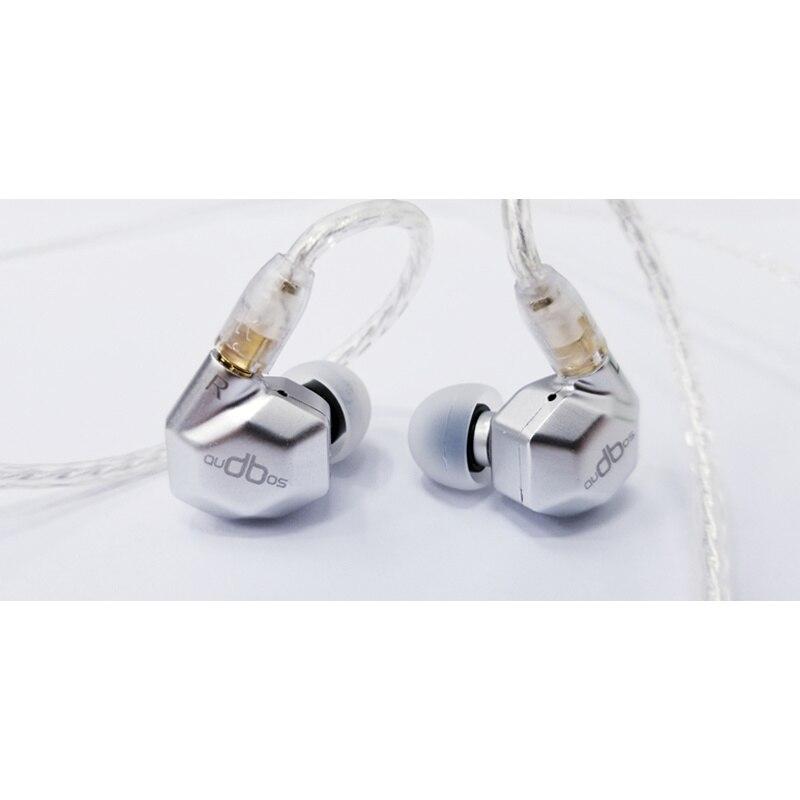 Newest Audbos K5 Metal In Ear Earphone 2DD+2BA Hybrid Drive Unit China DIY HIFI Monitor Earphone MMCX Pin DIY Audiophile