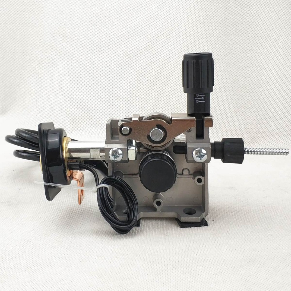 12V 0.8-1.0mm ZY775 Wire Feed Assembly Wire Feeder Motor MIG MAG Welding Machine Welder Euro Connector MIG-160