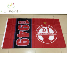 Israel Hapoel Beer-Sheva FC 3ft*5ft (90*150cm) Size Christmas Decorations for Home Flag Banner Type D Gifts