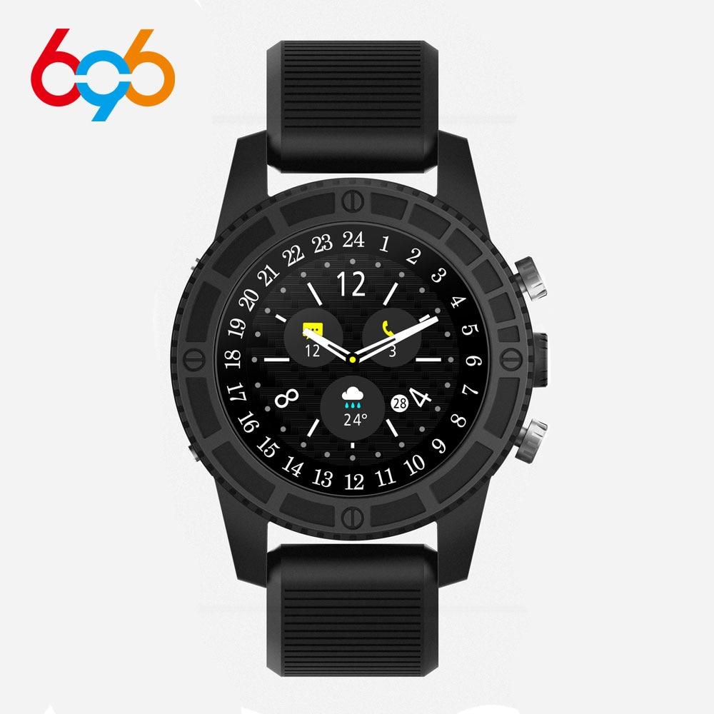 696 i7 hommes Tracker de Fitness montre intelligente Android 7.0 Support réseau Wifi Hotspot Bluetooth Smartwatch pk montre apple