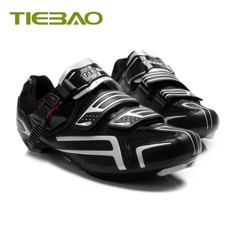 Купить с кэшбэком Tiebao Road bike shoes 2019 pro cycling sneakers bisiklet self-locking breathable sapatilha ciclismo superstar outdoor shoes