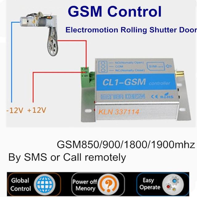 GSM Relais Toröffner Schalter controller durch sms oder rufen sie ...