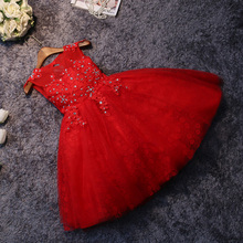 princess dress new girls pageant dress for party birthday peform crystal sleeveless ball gown flower girl