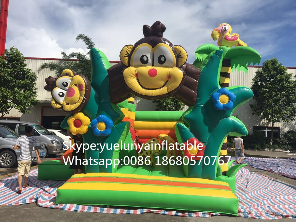 цены 2016 new Factory direct Inflatable slide, inflatable castle, Inflatable jumping bed  KYB-99