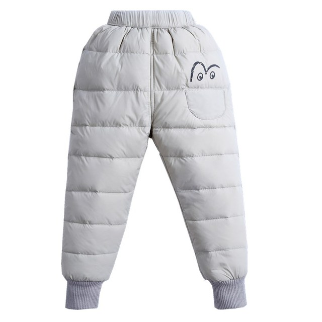 ca8172270 Children S Down Pants Autumn Winter Kids Baby Girls Thickened ...
