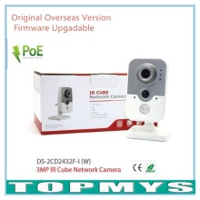 Overseas Version WIFI Camera DS-2CD2432F-IW, Full HD 1080P 3MP Wireless Camera Built-in microphone DWDR & 3D DNR & BLC IP Camera