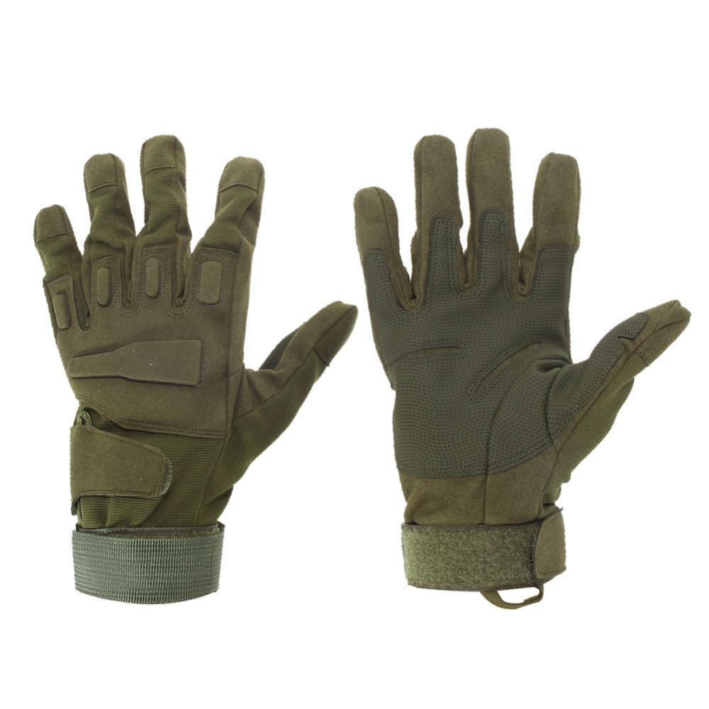 Armee Kampf Training Taktische Handschuhe Männer Militär Polizei Soldat Paintball Outdoor Handschuhe Voll Finger Sport Jagd Fahrrad Handschuhe
