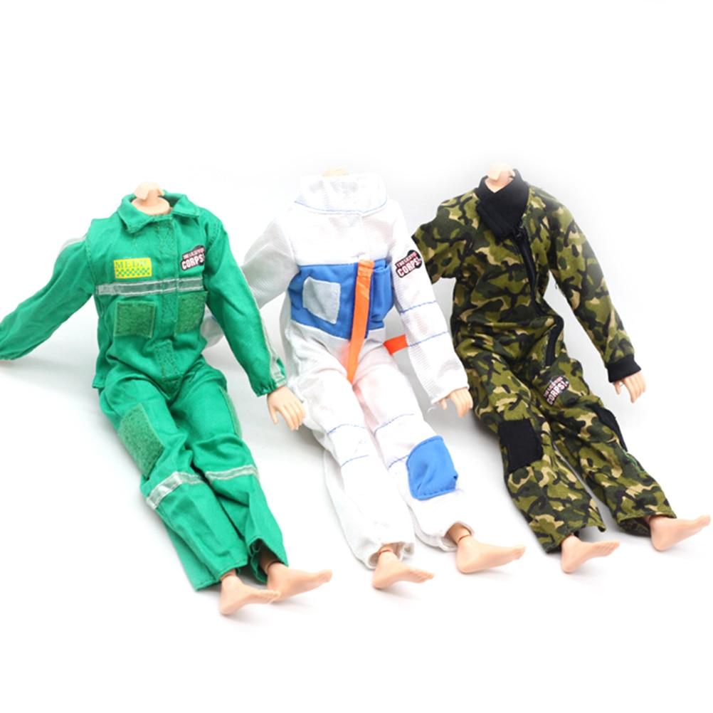 Trendy Puppe Feuerwehrmann Feuerwehranzug Anzug für 28 30cm Soldat Puppe Kleidung & Accessoires Puppen & Zubehör