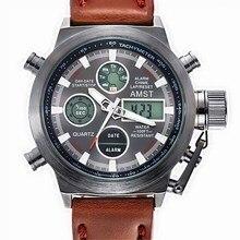 Watches Men Luxury Brand AMST Dive LED Digital Watches Sport Military Genuine Quartz Watch Men Relogio Masculino