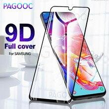 Закаленное стекло 9D для Samsung, защитное стекло с полным покрытием для Samsung Galaxy A20 A10 A50 A40 A30 A40s A60 A70 A80 M20 M10 M30