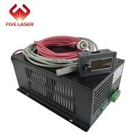 Laser cutting machine used 60w Zhenyu ZYE Laser power supply MYJG60W with LCD display current meter