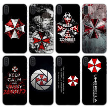 Umbrella Corporation Theme Resident Evil phone Cases Cover for Apple iPhone 7 8 Plus 6 6s PlusX SE 5 5s X XR XS MAX Phone case(China)