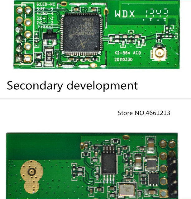 5 v AR9271 AR9271L 150 m ワイヤレスネットワークカード二次開発 2.0 ミリメートル 2.54 ミリメートル