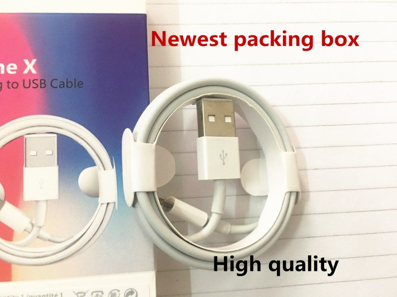 100Pcs lot Newest AAAAA quality 1m 3ft OD 3 0mm Data USB charger Cable with aluminum
