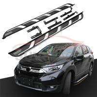 Fit for HONDA CRV CR V 2017 2018 2019 2020 Running Board Side Step Nerf Bar Aluminium Alloy New Designed Car Styling