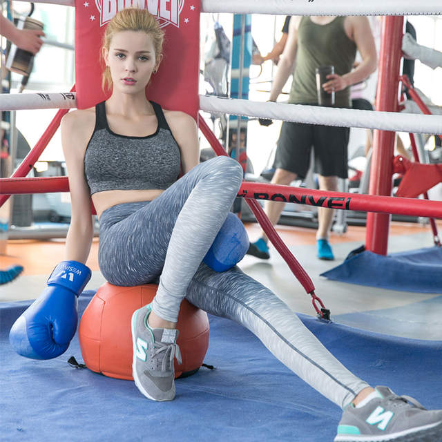 2feeeec5a Women Sexy Yoga Pants Stretchy Sports Leggings Running Tights Slim  Sportswear Gym Leggings Soft Fitness Tights