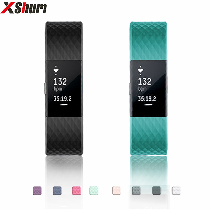 XShum Fitbit Charge 2 Band TPE Strap For FitBit Charge 2 TPE Replacement Bracelet For Fit Bit Charge 2 Band For Accessories