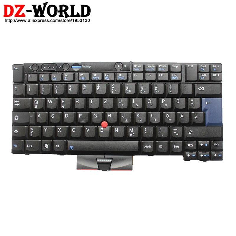 US $40 65 |מקורי חדש עבור lenovo thinkpad x220 x220i x220t x220 tablet  מקלדת teclado הגרמנית gr 45n2153 45n2223 45n2083 45n2118-במקלדות חלופיות  מתוך