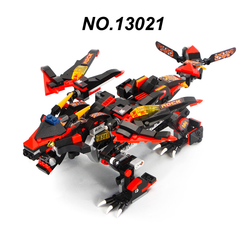 Creator mould king 13018-13022 dragon gongfu king