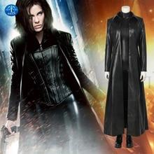 Underworld: Blood Wars The Vampire Female Warrior Selene Cosplay Costume Deluxe Outfit Halloween Costumes For Women Custom Made