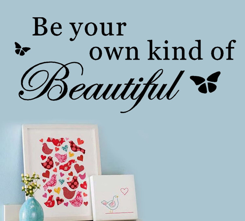 Be Your Own Kind Of Beautiful Wall Art online get cheap kind quote -aliexpress | alibaba group
