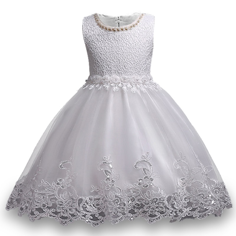 Summer dress flower pattern girls high quality 3-10 years Princess dresses girls wedding dress girl birthday party dress pandora dx 50 b
