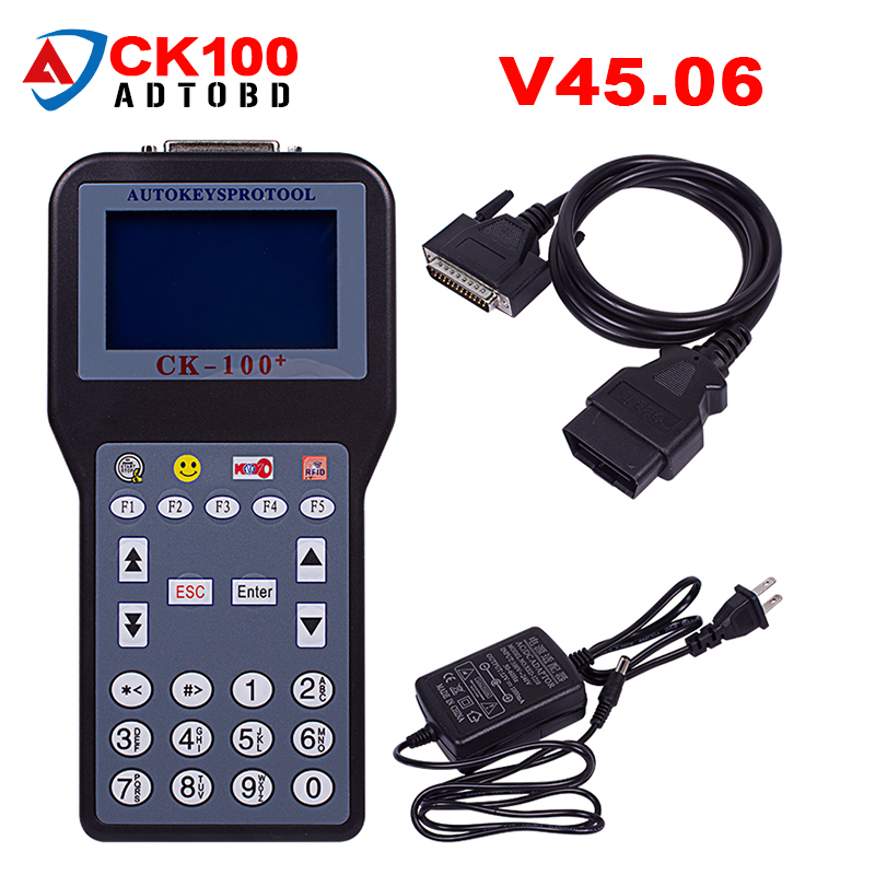 free ship CK-100 CK 100 CK100 V45.06 Auto Key Programmer Newest Generation SBB Key Programmer Multi-language CK100 V99.99