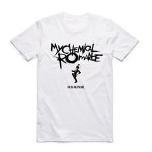 2017 S-XXXL Men's My Chemical Romance Punk Band T-shirt Short sleeve O-Neck Tshirt Summer Casual Hipster Swag T shirt