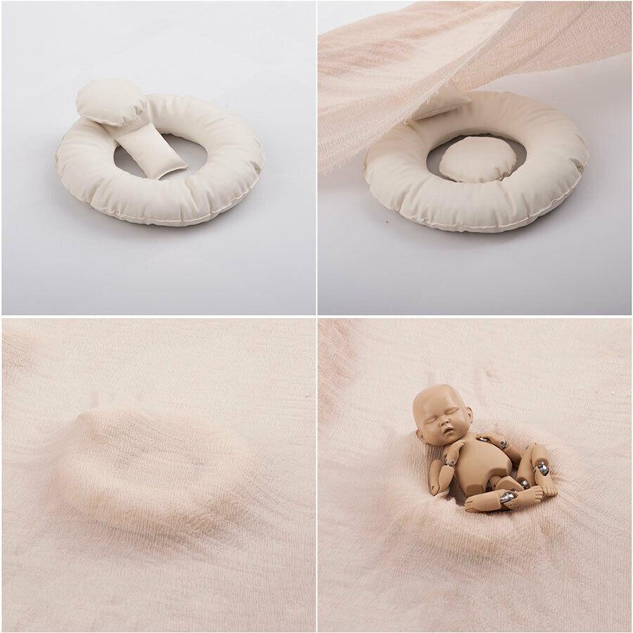 3Pcs Newborn Poser Pillows Photography Posing Beanbag Backdrop Photo Studio Prop