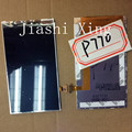 P770 acessórios peças de reposição display lcd digitador da tela para lenovo p770 smartphone frete grátis + track número