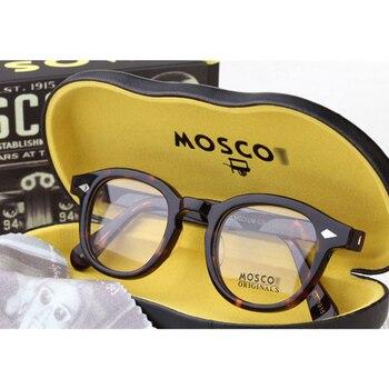 e9a78f1acc Optical Glasses Frame Men Women Johnny Depp Glasses Computer Transparent  Eyeglass Brand design Acetate Vintage Style