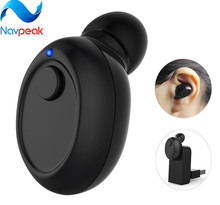 10pcs/lot Mini Bluetooth 4.1 Earphone HD Earbuds Earpieces Hands-free Call Car Earphone with Mic for Smartphones Tablets