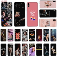 Lavaza One Direction Tattoos Harry Styles Hard Phone Case for Apple iPhone 6 6s 7 8 Plus X 5 5S SE XS Max XR Cover