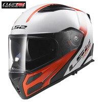 LS2 метро FF324 мотоциклетные шлемы Модульная анфас флип крейсерские шлемы