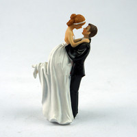 Creative Wedding Cake Decorations Bride Groom Wedding Gift Doll Resin Crafts Party Decoration Ornament