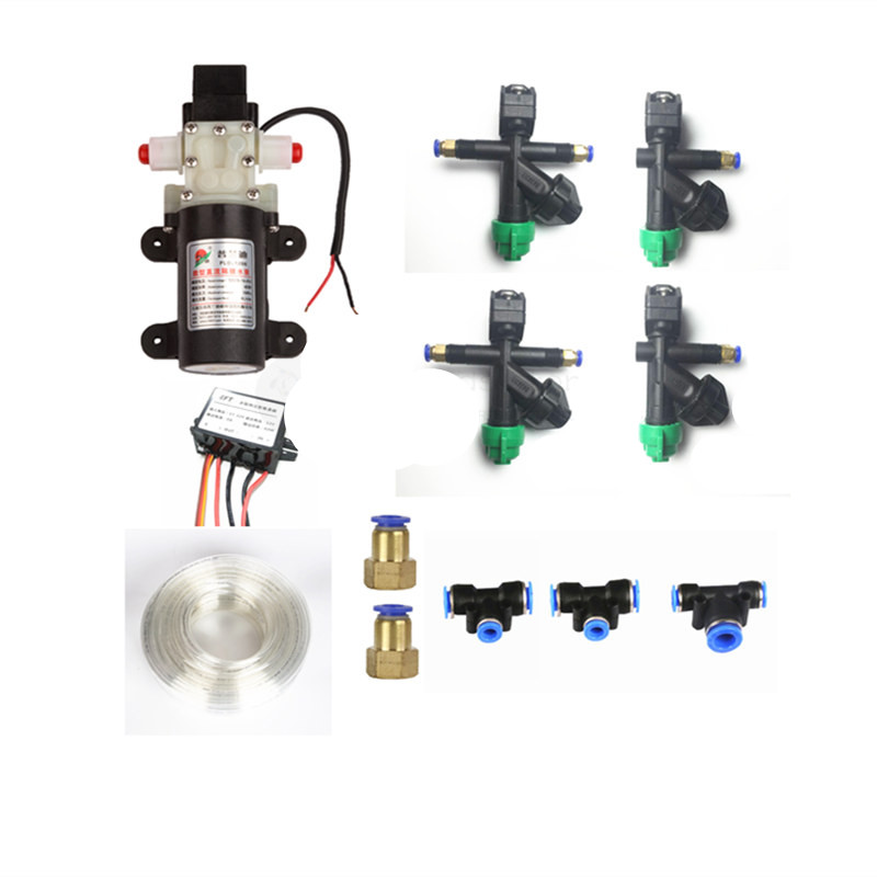 5L/10L/15L/20L agriculture drone sprayer Water pump, nozzle,Pump buck ESC,connectors, pipes for DIY Agricultural drone spray kit 3 inch gasoline water pump wp30 landscaped garden section 168f gx160 agricultural pumps