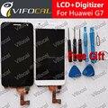 Для Huawei G7 ЖК-Дисплей + Сенсорный Экран + Инструменты высокое Качество Замена Панель Ассамблея Дигитайзер Для Huawei Ascend G7 телефон