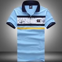 Summer New Men Short Sleeve Shirt Solid Color Classical Men T Shirt 100 Cotton High Quality