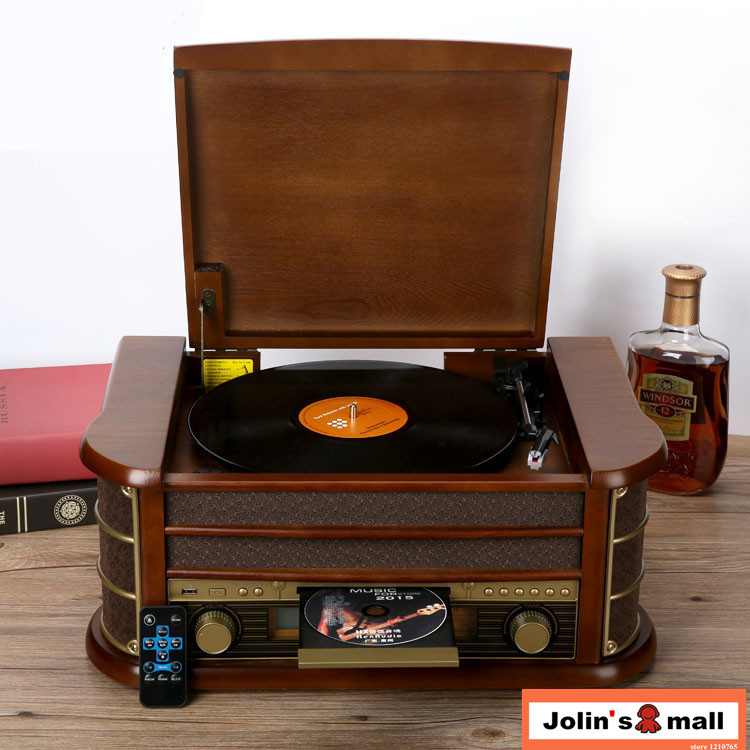 2018 Version Ancient Classical Solid Wood Phonograph