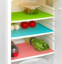 4 pcs/set 29cm*45cm Fashion Refrigerator Pad Antibacterial Antifouling Mildew Moisture Absorption Pad Refrigerator Mats