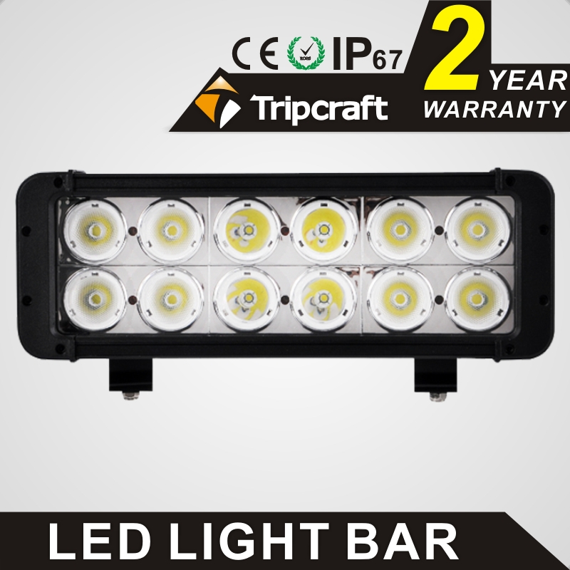 TRIPCRAFT waterproof car lamp 120w led light bar Double row work light for Driving Boat Car Truck 4x4 SUV ATV Off Road Fog lamp promotion 120w led driving light 21inch led car ramp off road light driving lamp for truck suv boat 4x4 4wd atv tractor