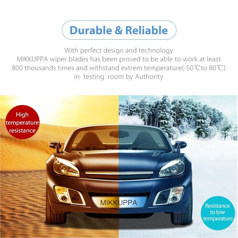 Combinar as lâminas do limpador dianteiro e traseiro para Fiat Bravo - Peças auto - Foto 4