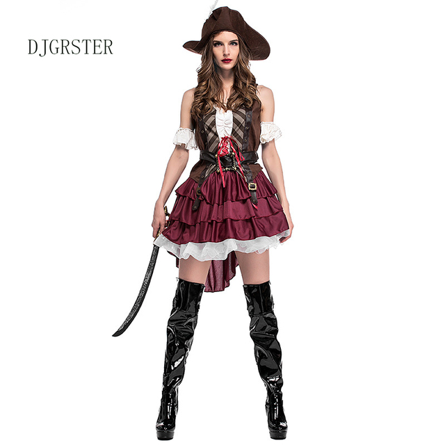 Sexy female pirate costume