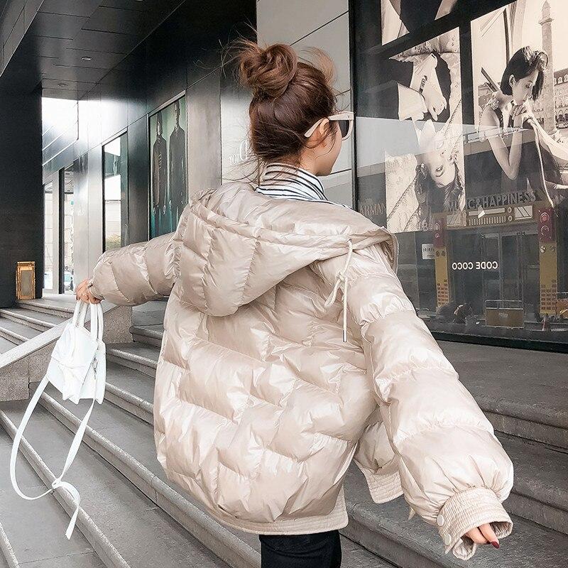 creamy Parka black D'hiver Blue Jacket Femelle White Nouveau Droite Gray Lâche Manteau Pain En De Mode Épais Coton Court Yy177 Oyterwear Femmes RqXHZ