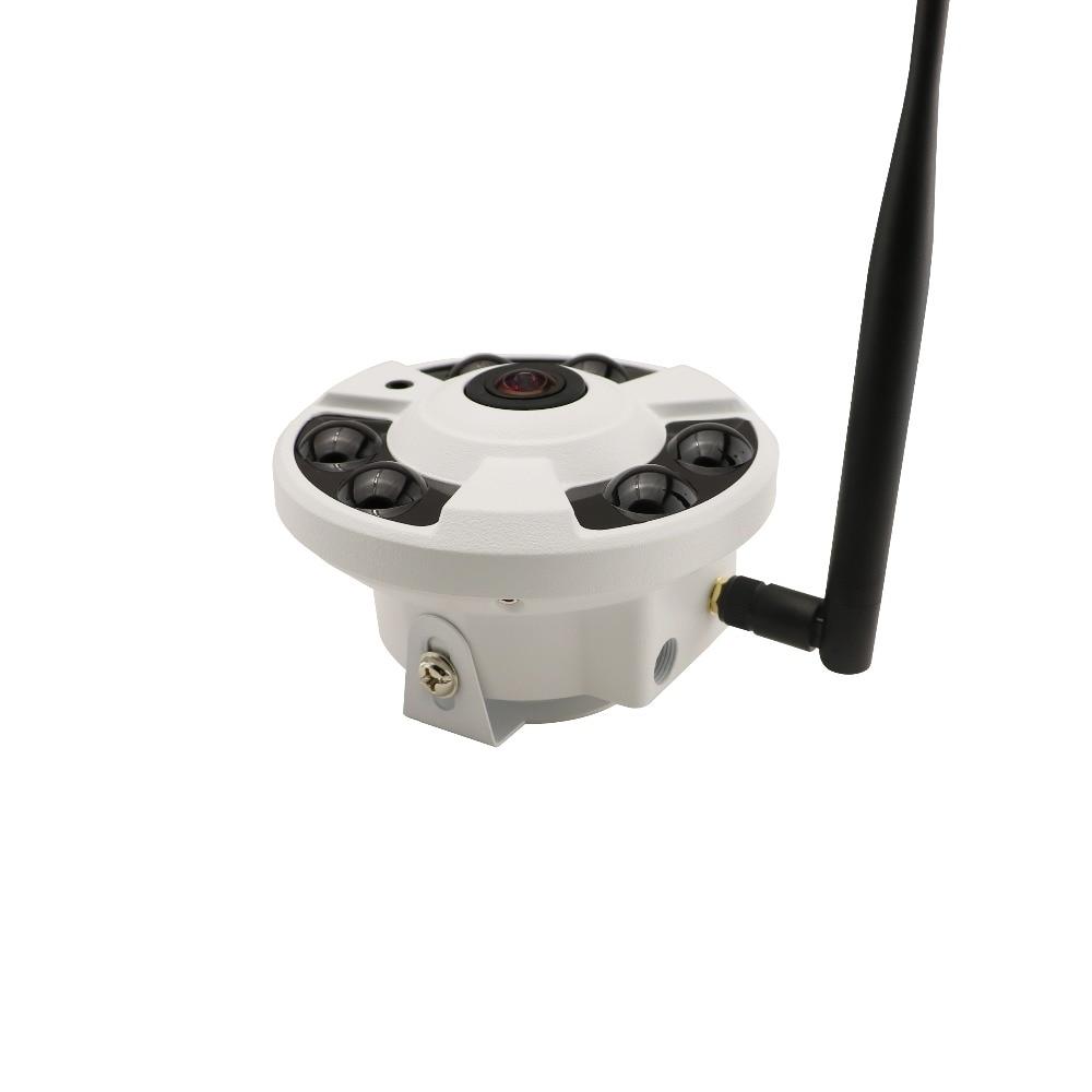 ФОТО HD 960P Wireless WiFi fisheye wide-angle infrared night vision surveillance camera P2P Onvif H.264 Security