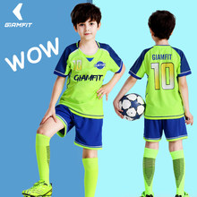 16bd720b0 Custom Soccer Jersey Camisas De Futebol 2019 Jersey Kids Short Sleeves Football  Shirts Team Training Uniform