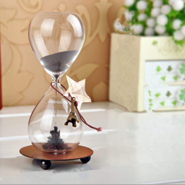 New Arrival Ampulheta Magnetic Sand Hourglass Decorative Household ItemsCharacteristics Of Creative Arts And Crafts