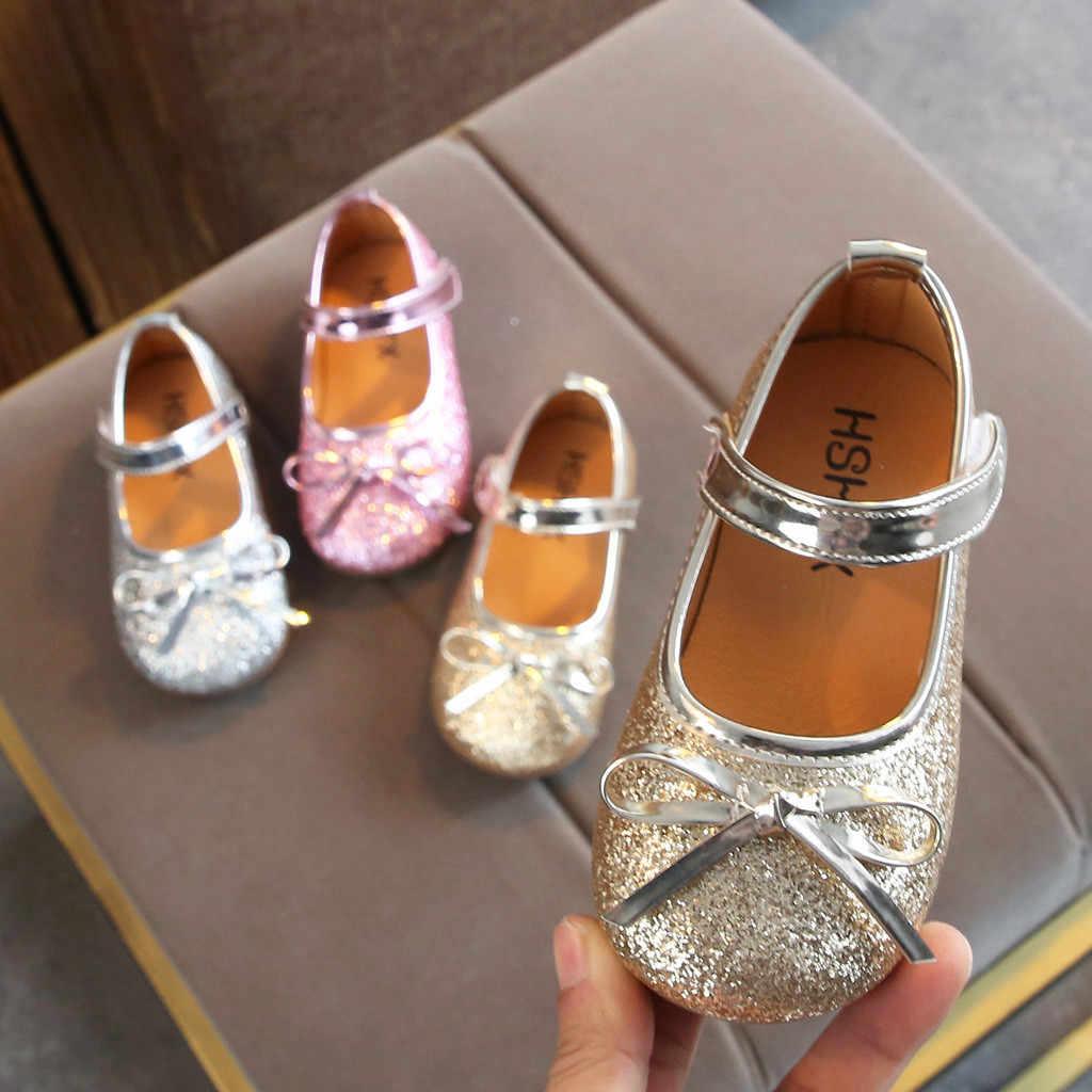74f8389d0e Kids Shoes Infant Newborn Baby Girls Soft Sole Hair Ball Princess ...