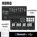 Korg nanoKONTROL Studio/nanoKEY Studio Keyboard control ler Bluetooth/USB MIDI control <font><b>Surface</b></font> с 8 фейдерками и переключателями с подсветкой