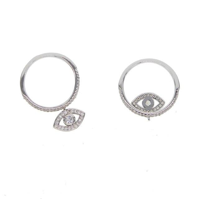Купить серебряное кольцо с микро инкрустацией из кубического циркония